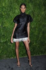 Cindy Bruna At 15th Annual CFDA Vogue Fashion Fund Awards, Ceremony, New York