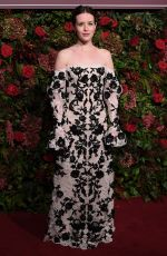 Claire Foy At Evening Standard Theatre Awards in London