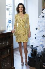 Clara Lago Attends the presentation for the beauty range