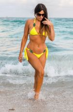 Claudia Romani At her favorite spot on South Beach