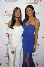 Clelia Theodorou and Shelby Tribble at Chicks Charity Event at The Waldorf Hilton, London