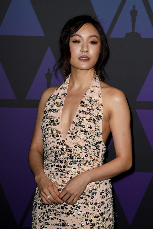 Constance Wu At 10th Annual Governors Awards in Hollywood