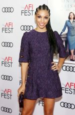 """Corinne Foxx At """"On The Basis Of Sex"""" gala premiere at AFI FEST 2018 in Hollywood"""