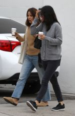 Courteney Cox Goes furniture shopping with a friend in LA