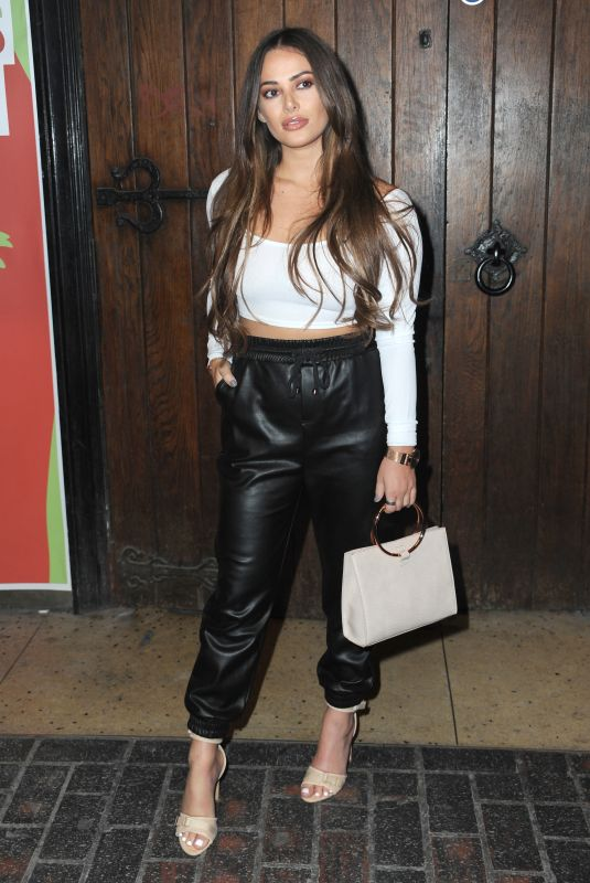 Courtney Green At Launch party of new feminine care brand Woo Woo at The Box Soho in London