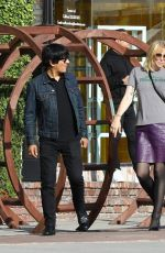 Courtney Love Out in West Hollywood