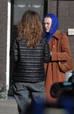 Dakota Fanning Filming her new movie