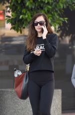 Dakota Johnson Leaves the gym after a workout in Los Angeles
