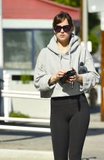 Dakota Johnson Leaving a pilates class in Los Angeles
