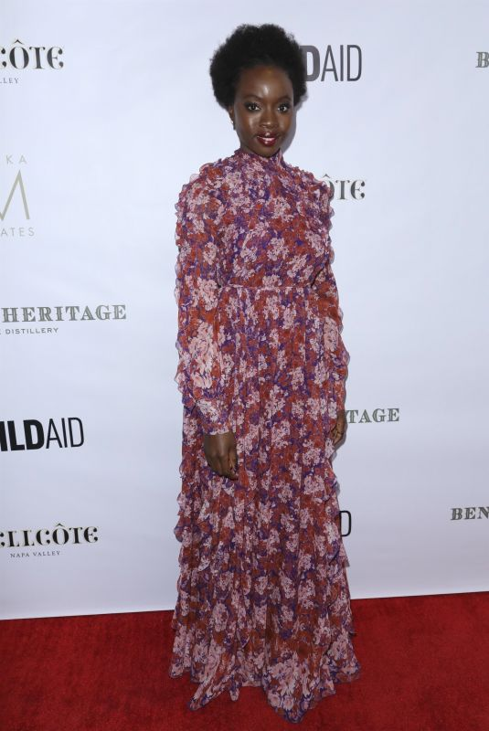 Danai Gurrira At An Evening in China with WildAid, Los Angeles