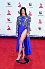 Danella Urbay At The 19th Annual Latin GRAMMY Awards in Las Vegas