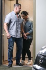 Demi Lovato Leaves the gym in Beverly Hills