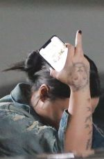 Demi Lovato Spotted leaving a gym in Beverly Hills