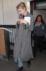 Elizabeth Debicki Arriving on a flight at LAX airport in Los Angeles