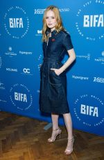 Ellie Bamber At 21st British Independent Film Awards nominations in London
