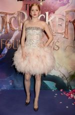 Ellie Bamber At UK Premiere of Disney