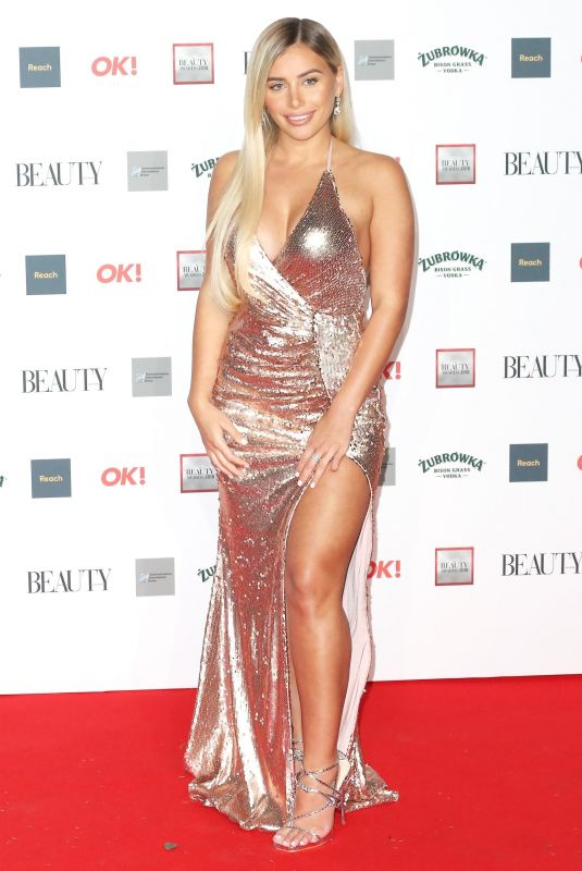 Ellie Brown At The Beauty Awards, London, UK