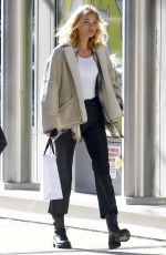Elsa Hosk Spotted out shopping in New York