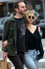 Emilia Clarke and her new boyfriend Charlie McDowell out in Los Angeles