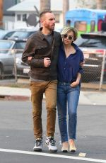 Emilia Clarke With Charlie McDowell out in Venice Beach