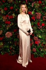 Emily Berrington At Evening Standard Theatre Awards, London
