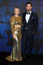 Emily Blunt At Academy of Motion Picture Arts and Sciences