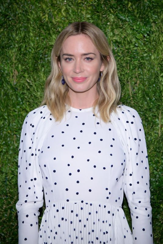 Emily Blunt At CFDA/Vogue Fashion Fund 15th Anniversary Event in Brooklyn