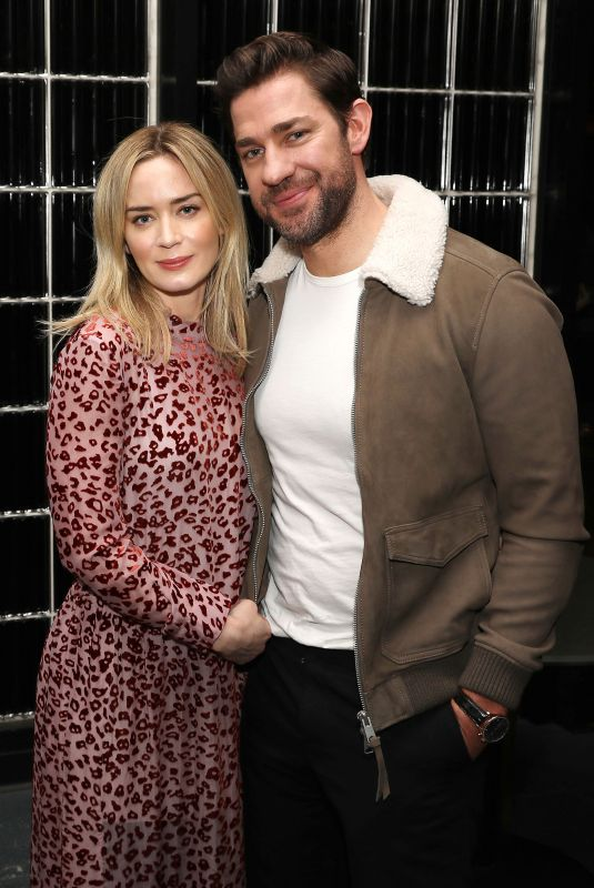 Emily Blunt At Reception for a Special Screening of Paramount Pictures