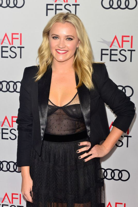 """Emily Osment At """"The Kominsky Method"""" screening at AFI FEST 2018 in Hollywood"""