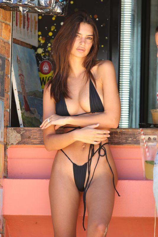 Emily Ratajkowski At Camp Cove beach in Sydney