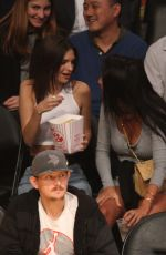 Emily Ratajkowski Out at the Lakers game at Staples Center in Los Angeles
