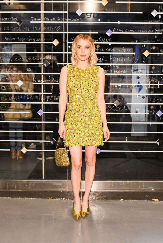 Emma Roberts At Uber Rewards launch party in New York