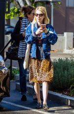 Emma Roberts Out with her mother in Los Angeles