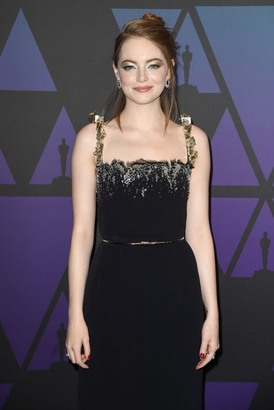 Emma Stone At 10th Annual Governors Awards in Hollywood