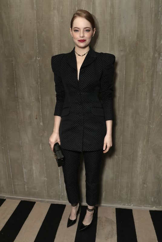 Emma Stone At Fox Searchlight holiday party in Los Angeles