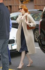 Emma Stone Stepped out in New York City
