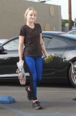 Evanna Lynch Heads into the studio for dance practice for Dancing With The Stars