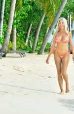Farrah Abraham In bikini while vacationing at the Ayada Resort in the Maldives