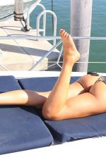 Farrah Abraham Training on a boat in Florida
