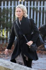Faye Tozer Arriving At Dance Studios in London For Strictly Come Dancing Rehearsals