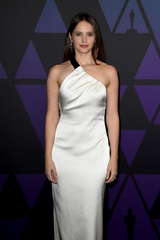 Felicity Jones At 10th Annual Governors Awards in Hollywood