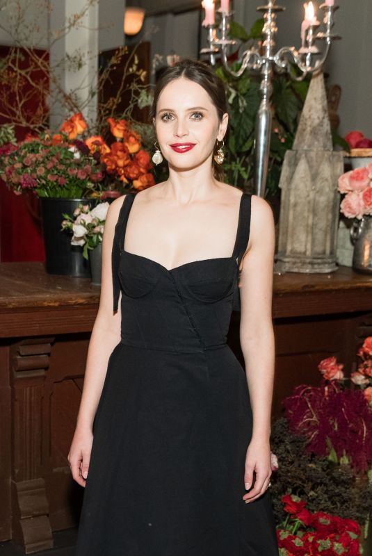 Felicity Jones At SFFILM Honors 2018 - On The Basis Of Sex - Screening, San Francisco