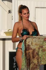 Francesca Brambilla In a bikini on Miami Beach