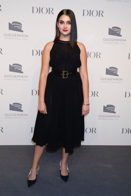 Geraldine Viswanathan At Guggenheim International Gala Pre-Party Made Possible BY Dior, New York
