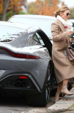 Geri Halliwell Out and about in London