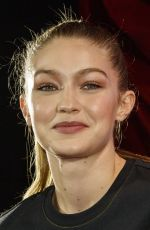 Gigi Hadid Poses for the cameras during the Reebok Classic presents