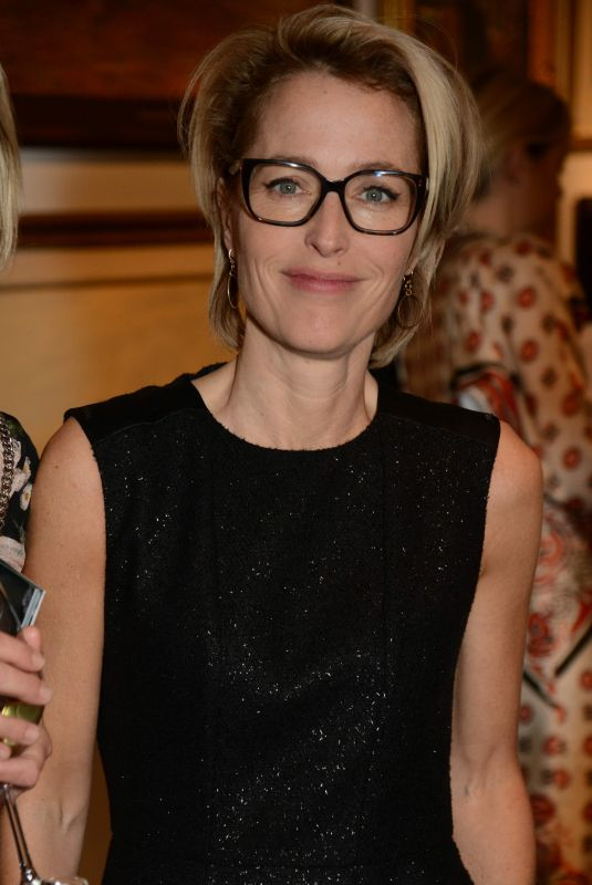 Gillian Anderson At Women for Women International #SheInspiresMe Auction, London