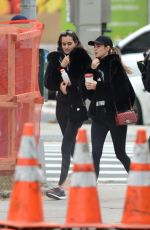 Gizele Oliveira and Cindy Mello Spotted heading to the gym in New York City