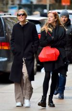 Gwyneth Paltrow Spotted with her kids in NYC