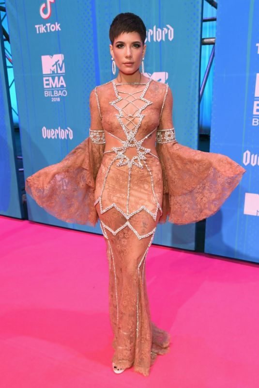 Halsey At 2018 MTV Europe Music Awards in Bilbao, Spain